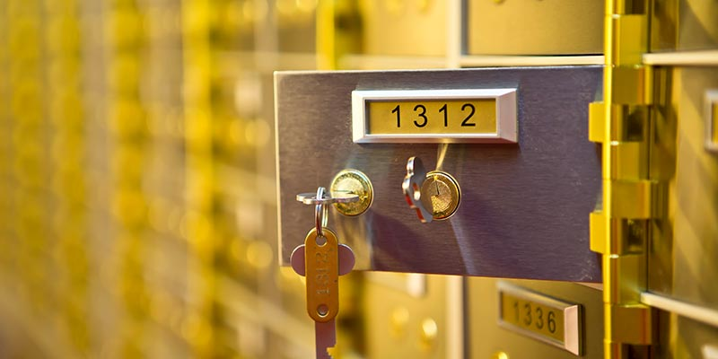 Safety Deposit Boxes Leeds